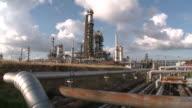 WS View of Holborn Refinery / Hamburg, Germany