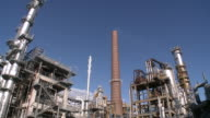 WS PAN View of Holborn Refinery / Hamburg, Germany