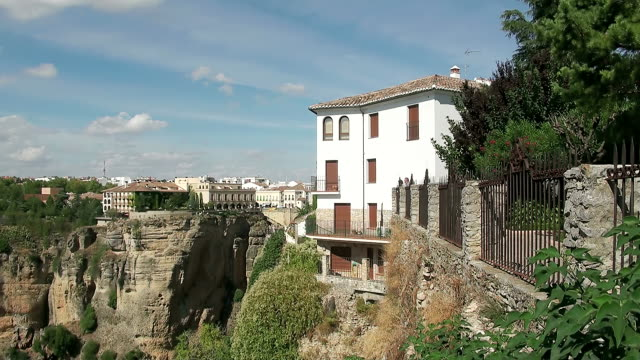 WS View of Hotel side at Ronda / Ronda, Andalusia, Spain