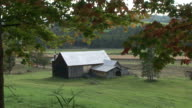 View of house at farm in Vermont United States
