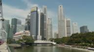 View of HSBC building, Singapore