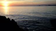 HD: View of Ibiza from Formentera island