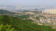 View of Incheon from Mt. Baegun