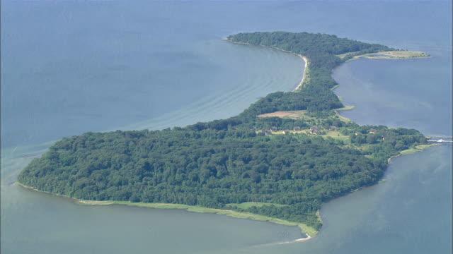 WS AERIAL ZI View of island / Ruegen, Mecklenburg-Vorpommern, Germany