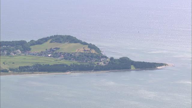 WS AERIAL ZO View of Island / RuegenGreifswaldLubmin, Mecklenburg-Vorpommern, Germany