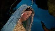 MS View of Italian nativity, Church of Santa Maria in Aracoeli / Rome, Italy