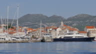 View of Korcula Old Town, Korcula, Dalmatia, Croatia, Europe