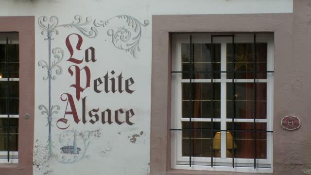 MS View of la petitealsace shop at market / Strasbourg, Alsace, France
