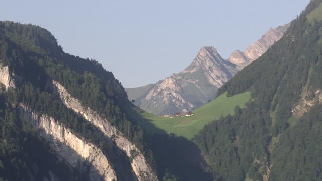 WS POV  View of lake at Vierwaldtstädter / Furgellen, Isenthal, Uri, Switzerland
