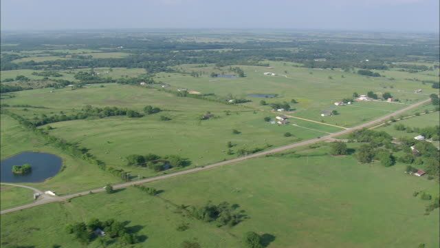 Paris (TX) United States  city photos gallery : Ws Aerial View Of Landscape Around Paris Texas United States Stock ...