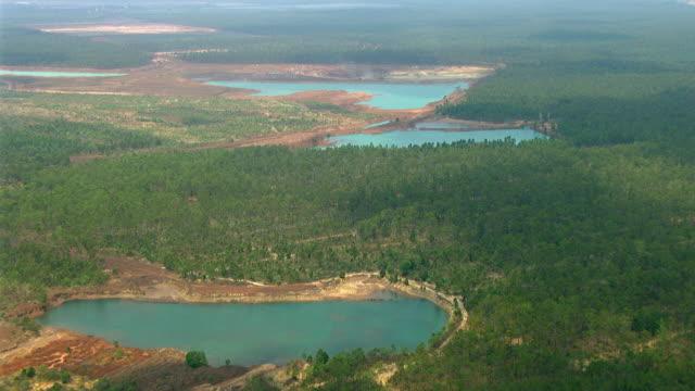 WS AERIAL View of landscape / Darwin, Northern Territory, Australia