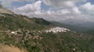 WS View of Landscape near mountain village Benadalid / Benadalid, Andalusia, Spain