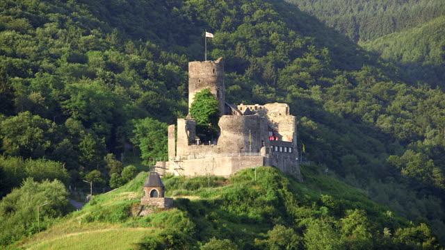 WS View of Landshut castle / Bernkastel-Kues, Rhineland Palatinate, Germany