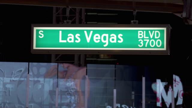 WS T/L View of  Las Vegas sequences / Las Vegas, Nevada, USA