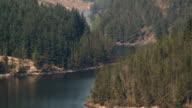 WS ZO View of  liyn brianne reservoir / Llanwrtyd, Powys/Wales, United Kingdom