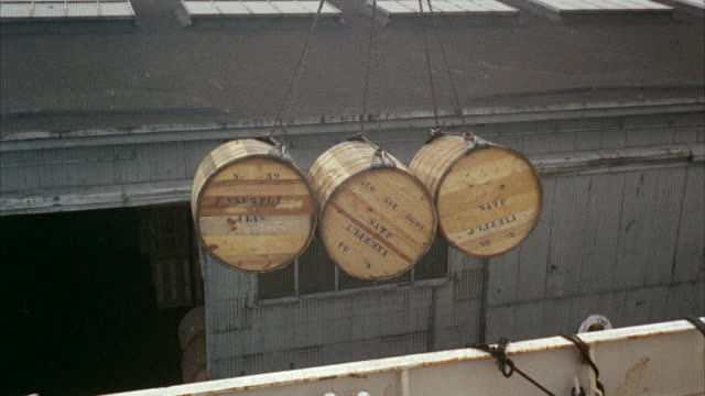 MS TU PAN ZI View of loading aboard ship