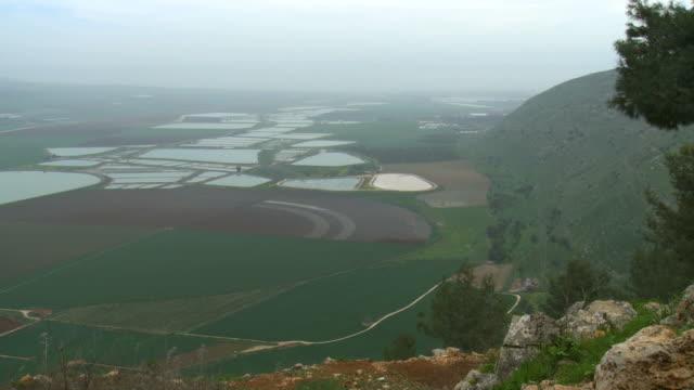 WS View of Lower Galilee / Jezreel Valley, Israel