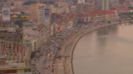 WS View of Luanda bay at Evening / Luanda, Angola