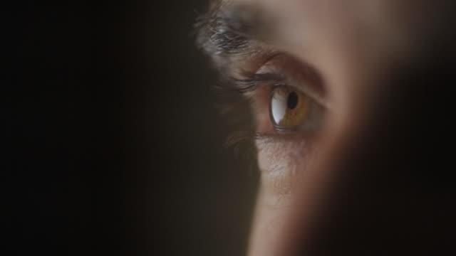 CU View of man eye / Seattle, WA, United States