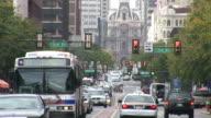 View of Market Street in Philadelphia United States