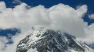 View of Matterhorn Peak at Zermatt area of Alps