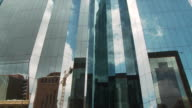 MS View of Mirrored building in Johannesburg CBD / Johannesburg, Gauteng, South Africa