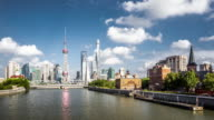 T/L WS View of Modern Shanghai / Shanghai, China