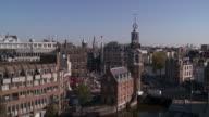 WS View of Muntplein and Munttoren / Amsterdam, Northern Holland, Netherlands