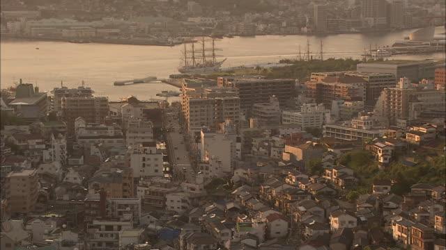 View Of Nagasaki City At Dusk