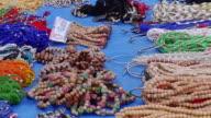 CU ZO View of necklace shop / Haridwar, Uttarakhand, India