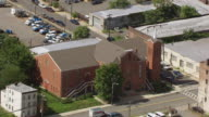 MS AERIAL DS View of New Hope Baptist Church / Newark, New Jersey, United States
