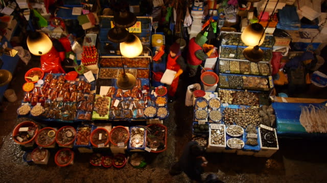 View of Noryangjin Fisheries Wholesale Market