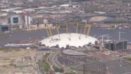WS AERIAL ZO View of O2 (Millennium Dome) / London, United Kingdom