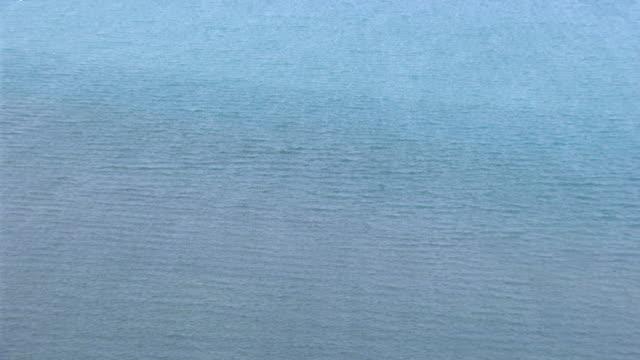 WS AERIAL View of ocean / Darwin, Northern Territory, Australia