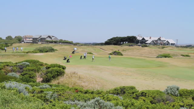 WS View of ocean grove golf club / Melbourne, Victoria, Australia