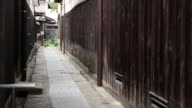 MS View of old back street of japanese style / Kurashiki, Okayama, Japan