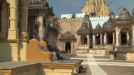 WS View of old temple in city / Rajkot, India