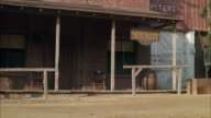 MS View of old west sheriff office