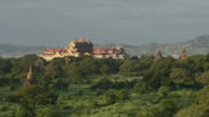 WS View of Palace, archaeological museum / Bagan, Mandalay Division, Myanmar