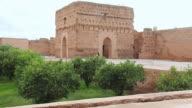 WS View of Palace El Baadi / Marrakesh, Morocco