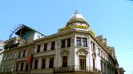 MS TD View of Parisian style building / Bucharest, Romania