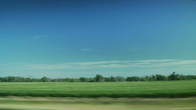 Blick auf die Landschaft Übergeben