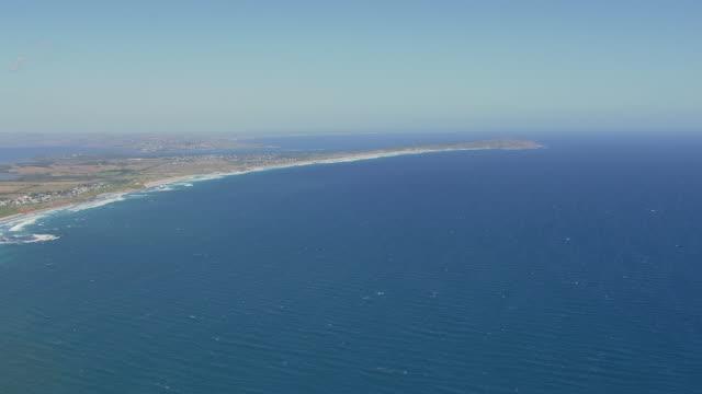 WS AERIAL View of Phillip Island / Phillip Island, Victoria, Australia