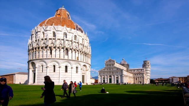 View of Pisa Cathedral (the third oldest structure in the city's Cathedral Square)