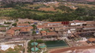 WS AERIAL TD View of plant / Brazil