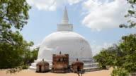 WS View of Polonnaruwa Temple, Polonnaruwa, Sri Lanka / Polonnaruwa, North Central Province, Sri Lanka