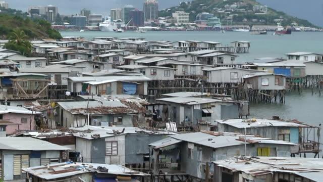 WS TU View of Port Moresby / Port Moresby, Papua New Guinea