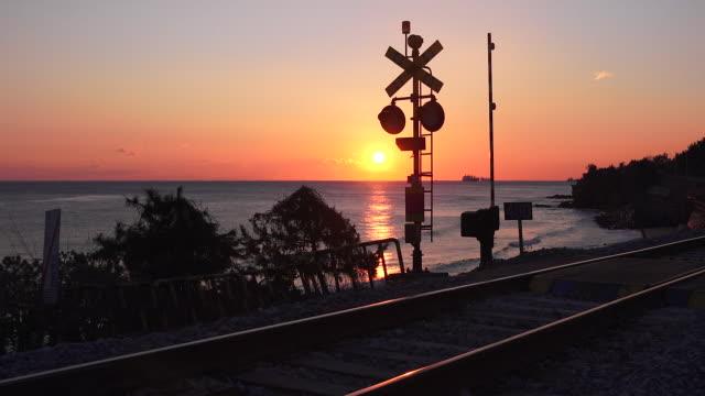 View of Railroad in Gangmun Beach