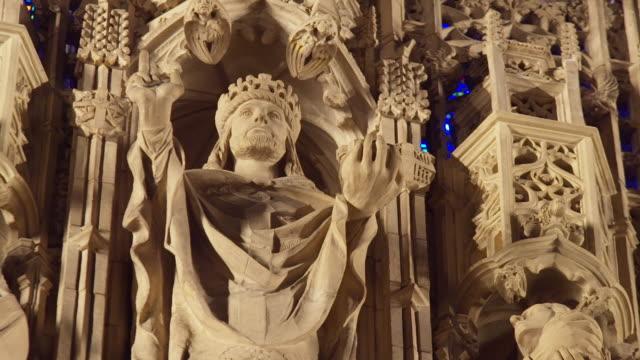 CU View of reredos at Saint Thomas Church / New York, United States
