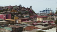 WS View of residential structure / Valparaiso, Chile